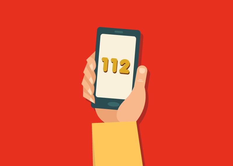 Acil telefon 112