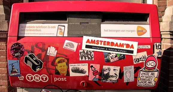 Amsterdamda_Posta_Kutusu