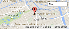 Amsterdam Rijksmuseum Haritası