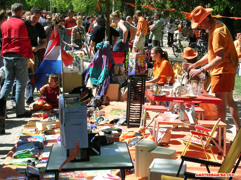 Queensday Free Market