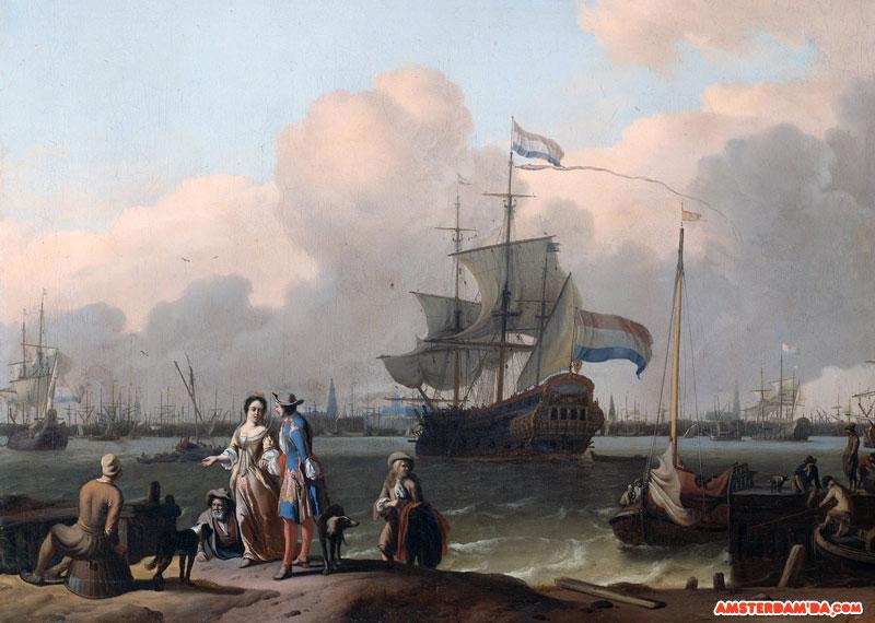 Amsterdam Limanı Tablosu