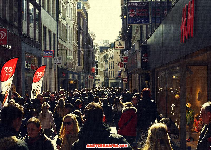 Kalverstraatta alışveriş