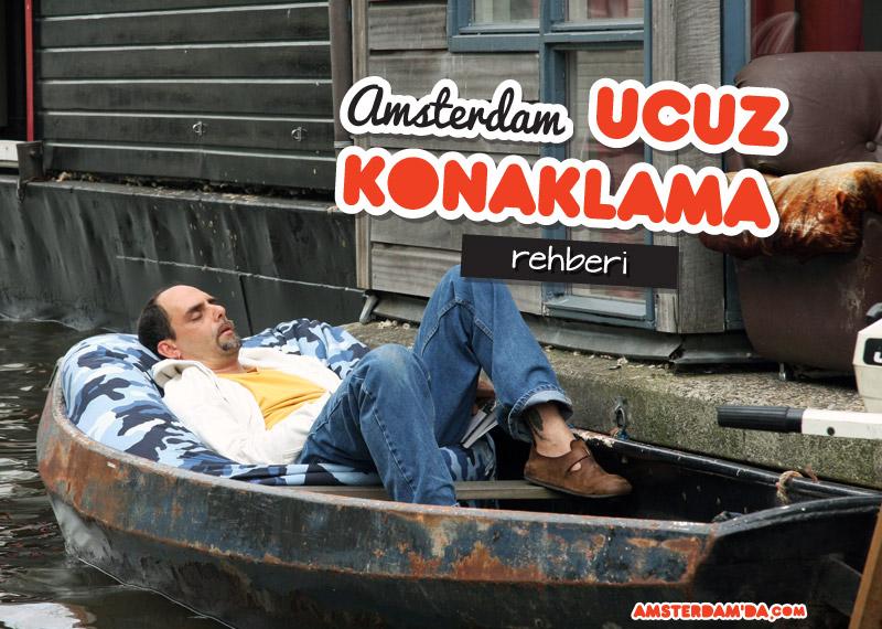 Amsterdamda ucuza kalmak