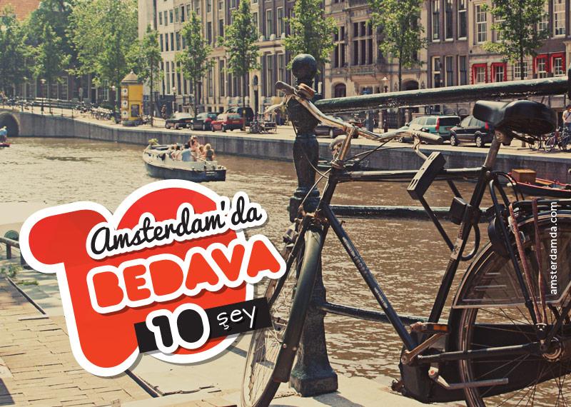 Amsterdam'da Bedava Şeyler
