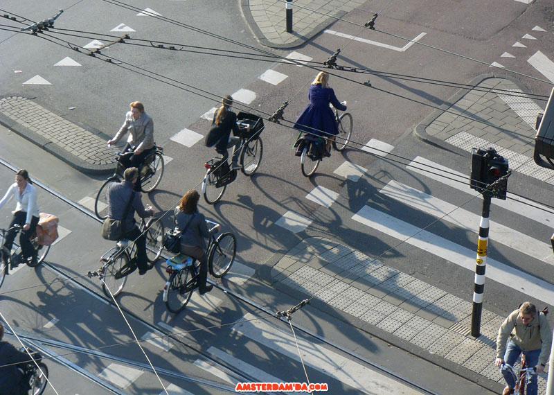 Amsterdam Bisiklet Trafiği