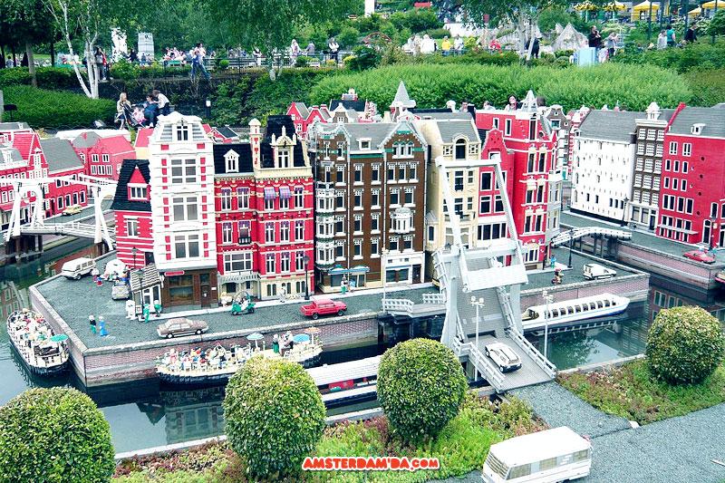 Amsterdam lego şehir