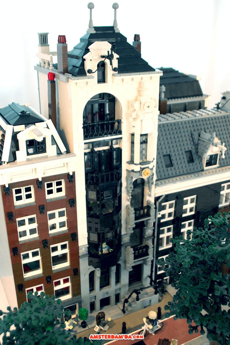 Lego Amsterdam evleri