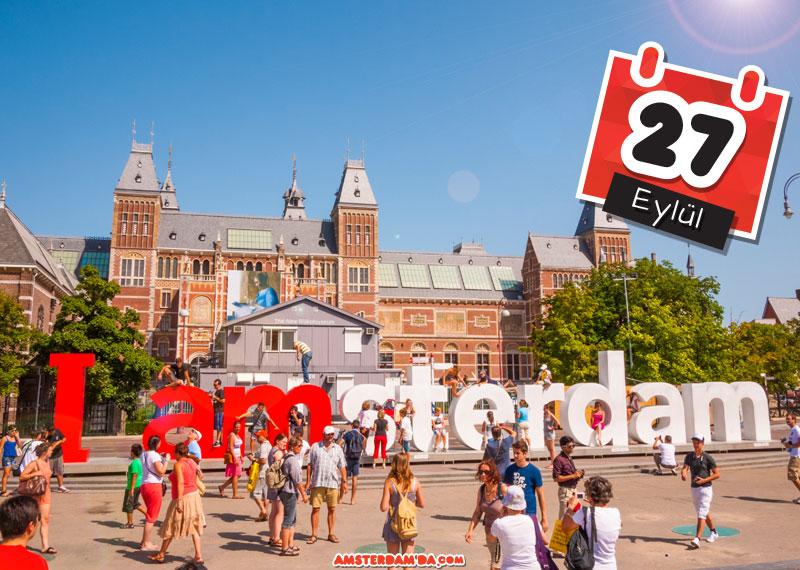 Amsterdama Hoşgeldiniz Etkinliği